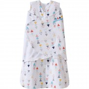 Halo SleepSack Swaddle - Multi Color Triangle (Size: 0-3, 3-6m)