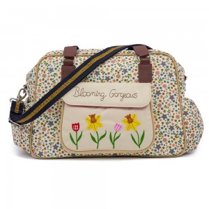 Pink Lining Blooming Gorgeous Changing Bag - Busy Bees