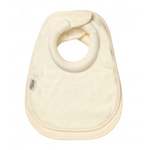 Tommee Tippee Closer to Nature Milk Feeding Bib Cream (2 Pack), Small