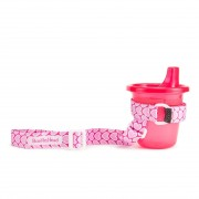 NEW-PINK HEARTS SIPPIGRIP
