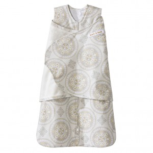 Halo Swaddle - Medallion Whisper (Size: 0-3m , 3-6 m)