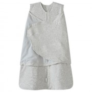 HALO SleepSack Swaddle Cotton - Heathered Gray (Size: 3-6 mths)