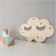 Birch Plywood Sleepy Cloud