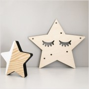 Birch Plywood Sleepy Star