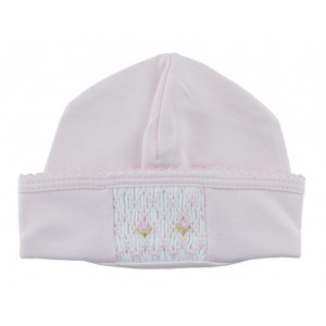 Rosebud Smocked Hat