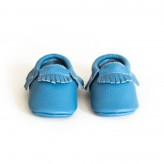 Ocean Blue Moccasin