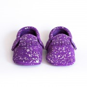 Purple Silver Moccasin