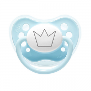 Littlemico Crown Blue Pacifier