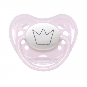 Littlemico Crown Pink Pacifier