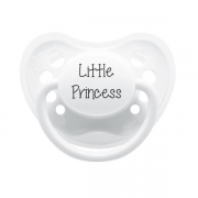 Littlemico Little Princess White Pacifier
