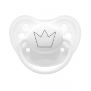 Littlemico Crown White Pacifier