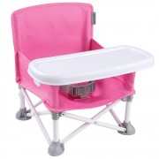 Summer Infant Pop N' Sit Portable Booster - Pink