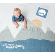 """I Will Move Mountains"" Milestone Blanket & Cards"