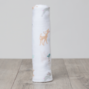 Little Fawn Cotton Muslin Swaddle