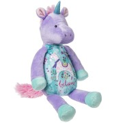 """Believe"" Whimsy Doodles Unicorn Soft Toy"