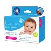 Brush Baby Dental Baby Wipes