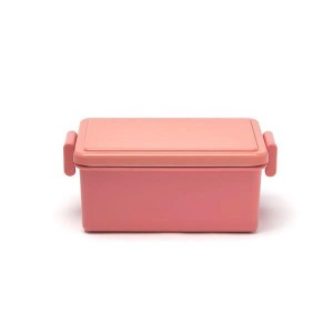 Japanese GEL-COOL Large Bento Lunchbox, Pink Macaroon