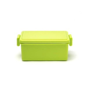 Japanese GEL-COOL Large Bento Lunchbox, Green Asparagus