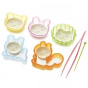 Ham & Cheese Cute Food Cutters