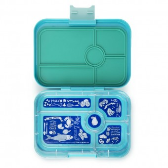 Antibes Blue 5 Compartment Lunchbox