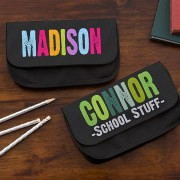All Mine! Personalized Pencil Case