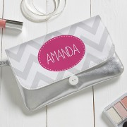 Chevron Personalized Wristlet