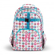 Personalized Playful Print Backpack - Girls