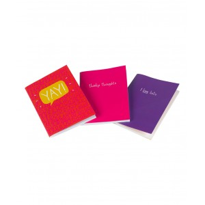 Happy Days Mini Notebook - Set of Three