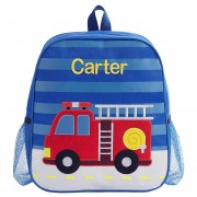 Personalized Backpack (Firetruck)