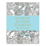 Millie Marotta's Animal Kingdom Coloring Journal - Set of Three