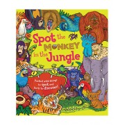 Spot the Monkey in the Jungle Hardcover