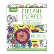 Elegant Escapes Coloring Book