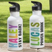 All Mine Personalized Water Bottle