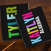 All Mine Personalized Large Notebooks (Set of 2)