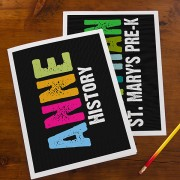 All Mine Personalized Folders (Set of 2)