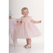 Blushing Rose Dress (6 mths)