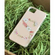 Floral Monogram for (iPhone / iPad / Samsung Cases) (Letters: A, N, M, S)
