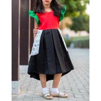 UAE Blooming Dress