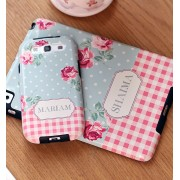 Personalized iPhone / iPad / Samsung Case (Floral Design)