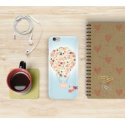 Floral Air Balloon iPhone Case
