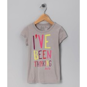 Gray 'I've Been Thinking' Tee (Sizes 5)