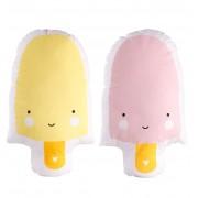 Ice cream Cushion (pink - yellow)