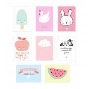 Poster lightbox sheets (Little girl)