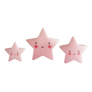 Mini Pink Stars Decoration
