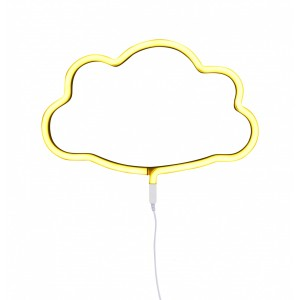 Yellow Neon Style Light (Cloud)