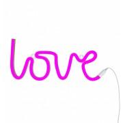 Pink Neon Style Light (Love)