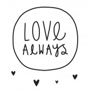 Wall stickers (Love always)