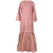Pink 'n' Gold Stripes Kaftan