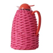 Rice Thermo with Plastic Weave - Fuchsia