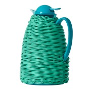 Rice Thermo with Plastic Weave - Green